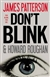 Don't Blink | Patterson, James & Roughan, Howard | Signed First Edition Book