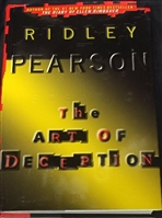 The Art of Deception | Pearson, Ridley | Signed Book Club Edition