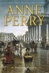 Perry, Anne - Blind Justice (Signed First Edition)