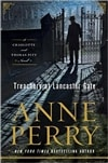 Perry, Anne | Treachery at Lancaster Gate, The | Signed First Edition Book