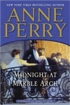Perry, Anne - Midnight at Marble Arch (Signed First Edition)