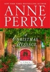Perry, Anne | Christmas Message, A | Signed First Edition Book