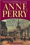 Perry, Anne - Treason at Lisson Grove (Signed First Edition)