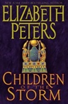 Peters, Elizabeth - Children of the Storm (Signed First Edition)