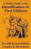 McBride's Pocket Guide to Identification of First Editions