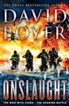Poyer, David | Onslaught | Signed First Edition Book