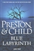 Blue Labyrinth | Preston, Douglas & Child, Lincoln | Double-Signed 1st Edition Large Print