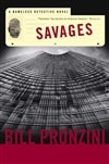 Savages | Pronzini, Bill | Signed First Edition Trade Paper Book