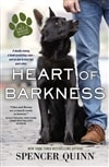 Quinn, Spencer (Abrahams, Peter) | Heart of Barkness | Signed First Edition Copy