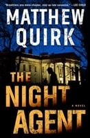 The Night Agent by Matthew Quirk | Signed First Edition Book