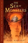 Riordan, Rick - Sea of Monsters, The (Signed First Edition)