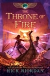 Riordan, Rick - Throne of Fire, The (Kane Chronicles Book 2) (Signed First Edition)