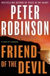 Robinson, Peter - Friend of the Devil (Signed First Edition)