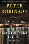 Many Rivers to Cross | Robinson, Peter | Signed First Edition Book