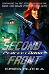 Rucka, Greg - Perfect Dark: Second Front (Signed Trade)