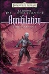 R.A. Salvatore's Forgotten-Realms: Annihilation by Philip Athans (Signed First Edition)