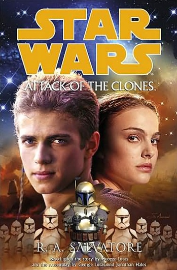 Salvatore, R A  | Star Wars: Attack of the Clones | Signed First Edition  Copy