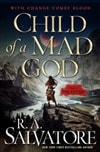Child of a Mad God | Salvatore, R.A. | Signed First Edition Book
