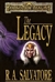 Salvatore, R.A. - Legacy, The (Signed First Edition)
