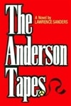 Sanders, Lawrence | Anderson Tapes, The | Signed First Edition Book