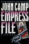 Empress File, The | Sandford, John (as John Camp) | Signed First Edition Book