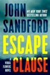 Sandford, John | Escape Clause | Signed First Edition Book