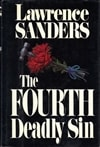 Sanders, Lawrence | Fourth Deadly Sin, The | First Edition Book