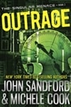 Outrage | Sandford, John & Cook, Michelle | Double-Signed 1st Edition