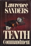 Tenth Commandment | Sanders, Lawrence | First Edition Book