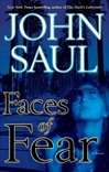 Faces of Fear | Saul, John | Signed First Edition Book