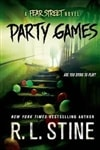 Stine, R.L. | Party Games | Signed First Edition Book