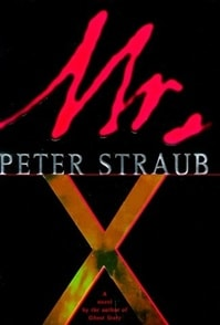 Mr. X | Straub, Peter | Signed First Edition Book