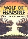 Wolf of Shadows | Strieber, Whitley | Signed First Edition Book