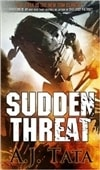 Tata, A.J. | Sudden Threat | Signed First Edition Book
