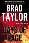 Days of Rage | Taylor, Brad | Signed First Edition Book