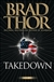 Takedown by Brad Thor | Signed First Edition Book