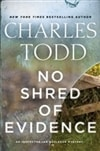 No Shred of Evidence | Todd, Charles | Double-Signed 1st Edition