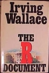 R Document, The | Wallace, Irving | First Edition Book