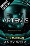 Artemis by Andy Weir | Signed First Numbered Limited Edition UK Book