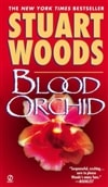 Blood Orchid by Stuart Woods | Signed 1st Edition Thus Mass Market Paperback Book