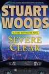 Severe Clear | Woods, Stuart | Signed Book Club Edition Book